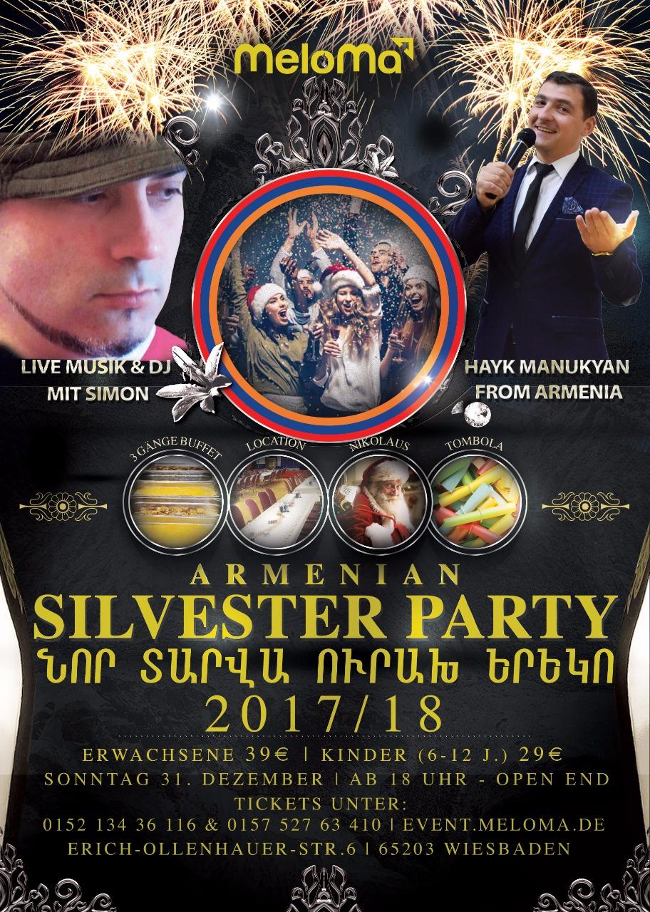 Silvesterfeier 2018 In Wiesbaden Armenischer Kulturverein In Hessen Ev