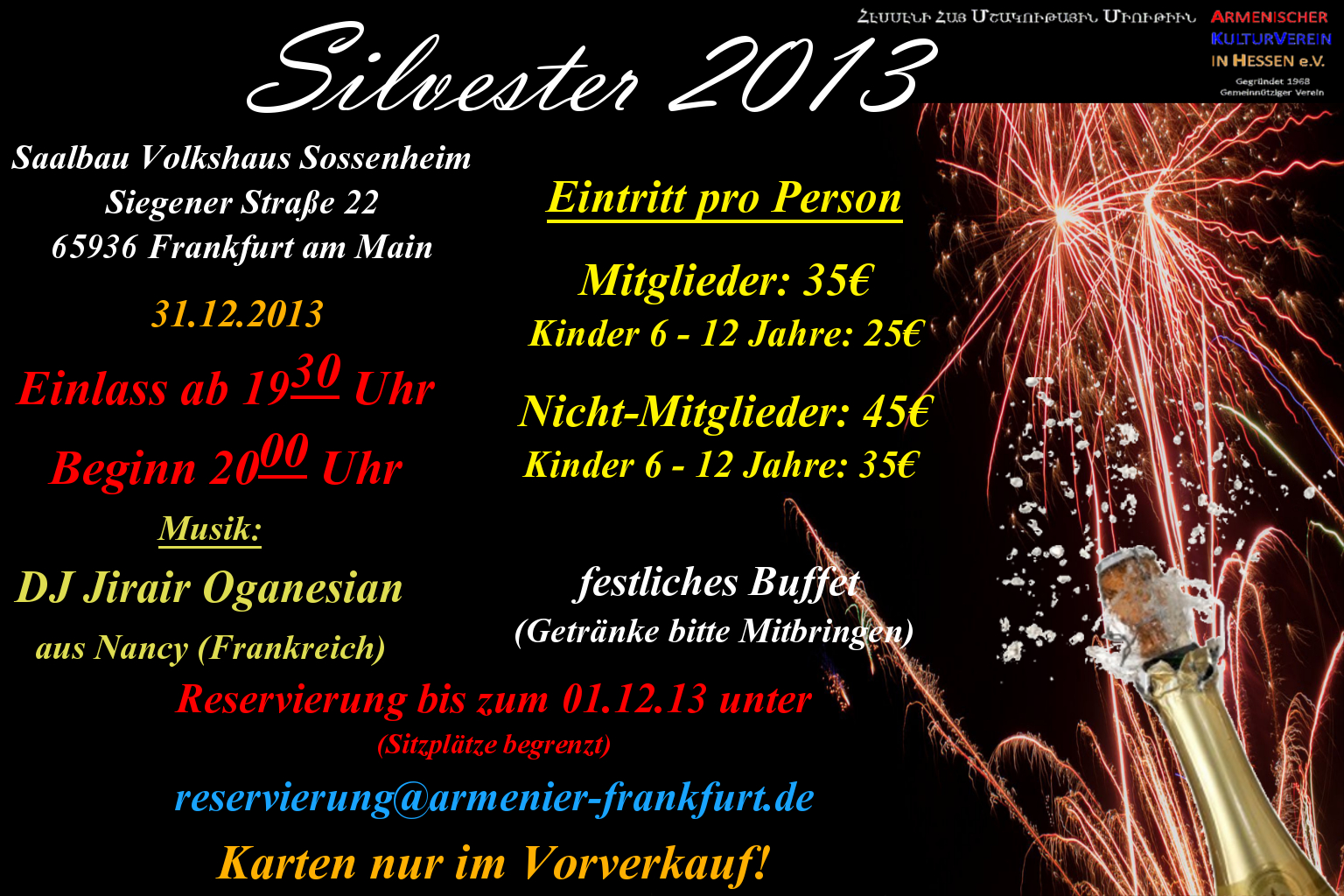 single am Silvesterabend
